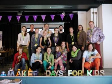 Das Team der Makerdays for Kids