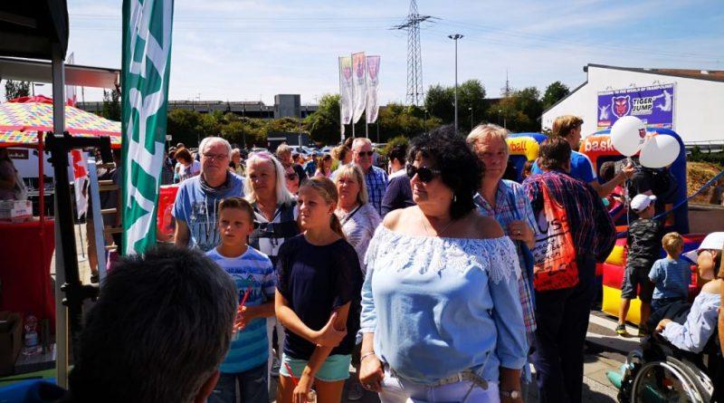Salzgrotte Oberhausen - Infostand Marina Oberhausen 2018