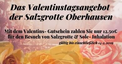 Valentin 2019 + Sparangebot