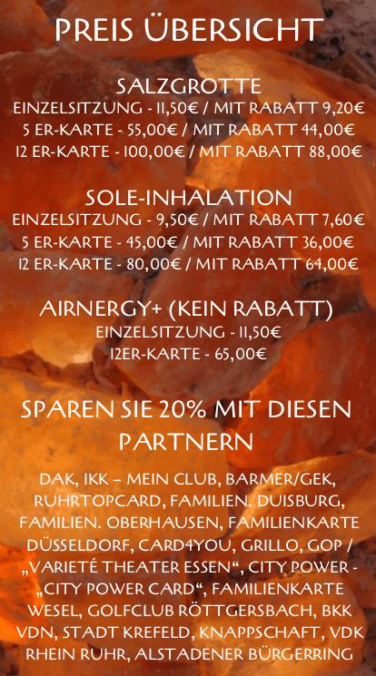 Preis Übersicht - Erstellt mit Canva - A.Denda www.seo-denda.de - Die Web Agentur aus Oberhausen
