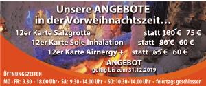 Xmas Angebot Salzgrotte Oberhausen