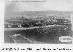Brikettfabrik um 1900