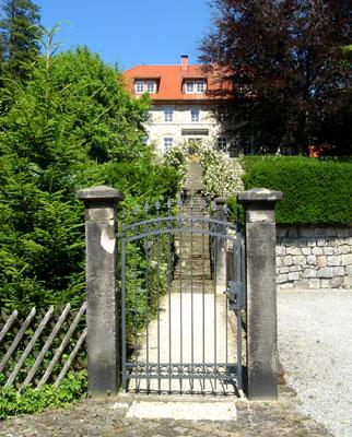 Das ehemalige Herrenhaus der Lauensteiner Glashütte (Foto:Pülm, Juni 2005)