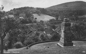Kriegerdenkmal und Appelburg
