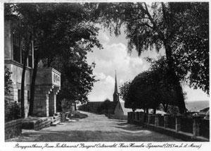 """Postkarte aus dem Berggasthaus """"Zum Fichtenwirt"""""""