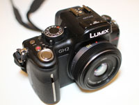 Panasonic GH2 with 20mm f/1.7 lens