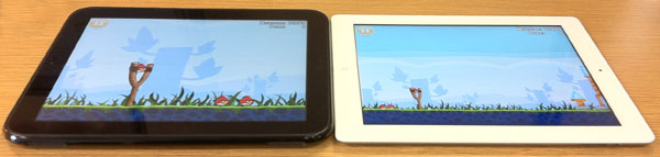 HP Touchpad and the Apple iPad 2