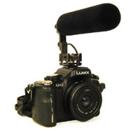 DSLR with Ambient Recording TinyMike