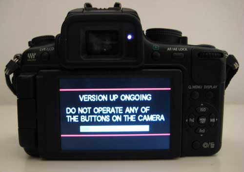 Hacked Panasonic GH2