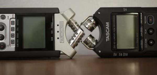 Zoom H4n vs. Tascam DR40