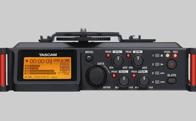 First Thoughts on the Tascam DR-70D Field Recorder