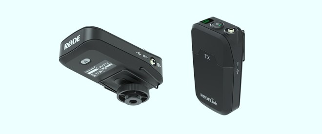 Rode RODELink wireless microphone system