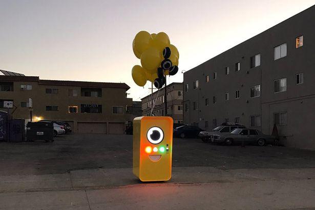 Snapchat Snapbot vending machine
