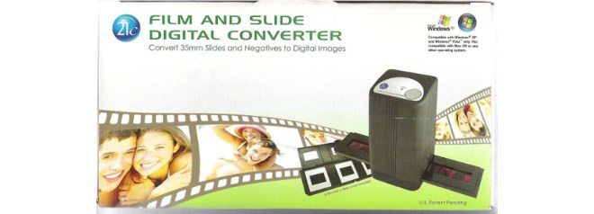 21c Film and Slide Digital Converter