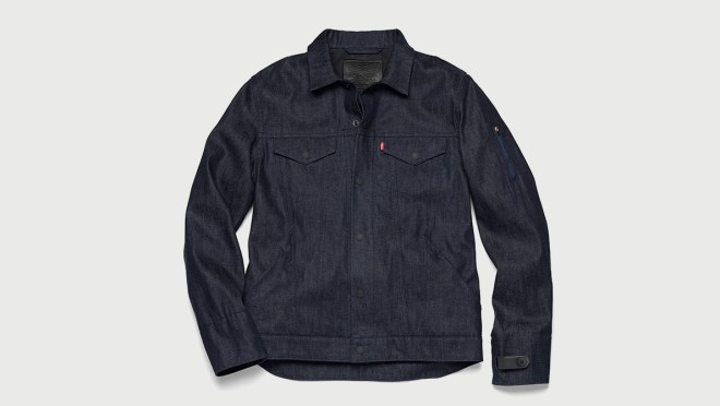 Levi's Commuter Trucker Jacket with Project Jacquard