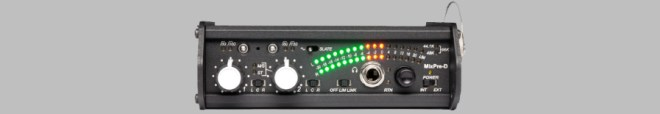 The face of the Sound Devices MixPre-D