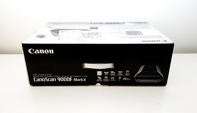 How to start using the Canon CanoScan 9000F Mark II film scanner