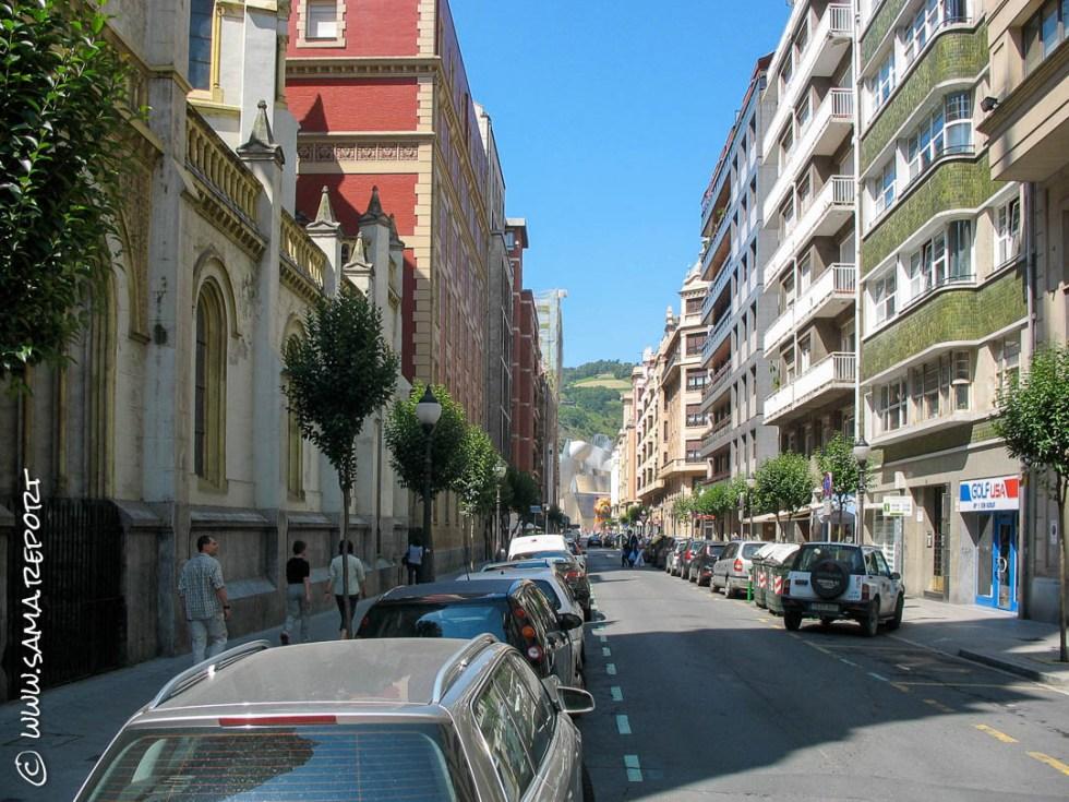 Straßenzug Bilbao