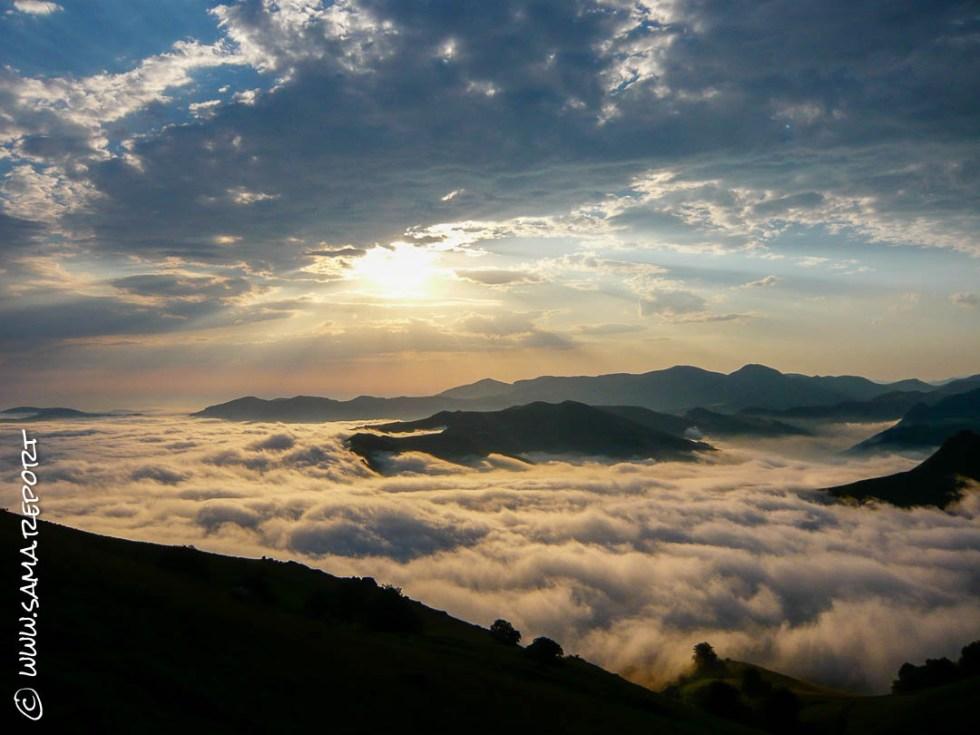 Über den Wolken in Orisson