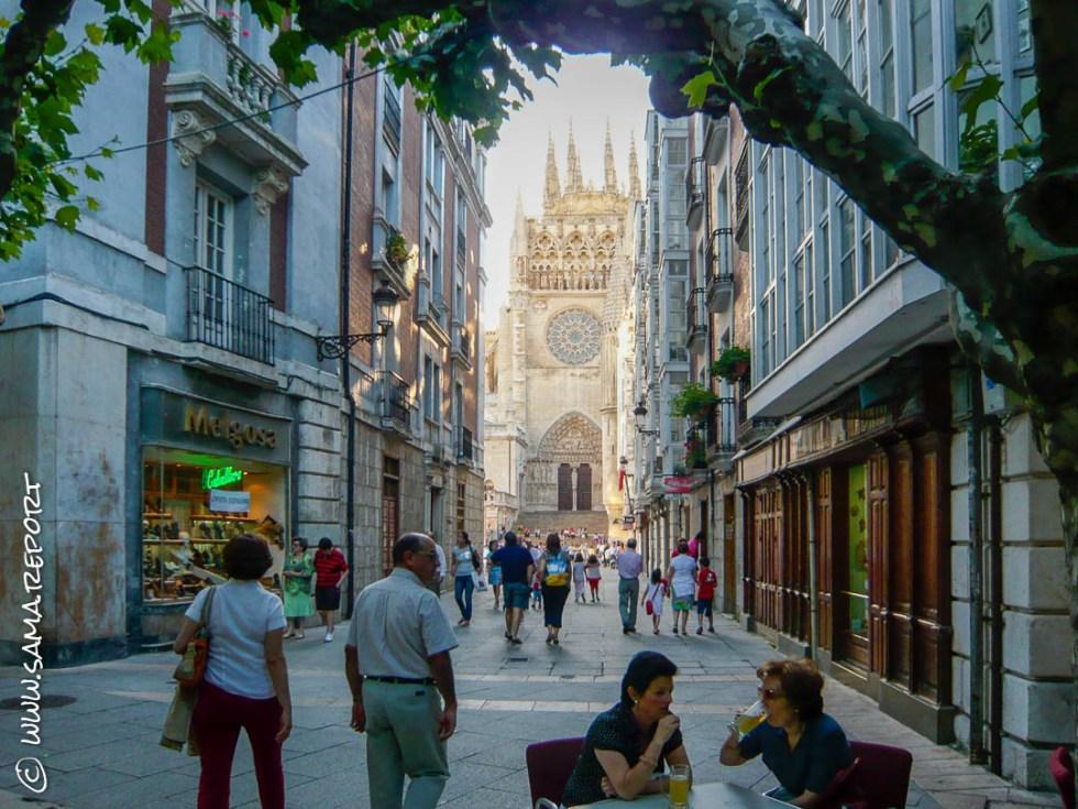 Stadtbummel durch Burgos