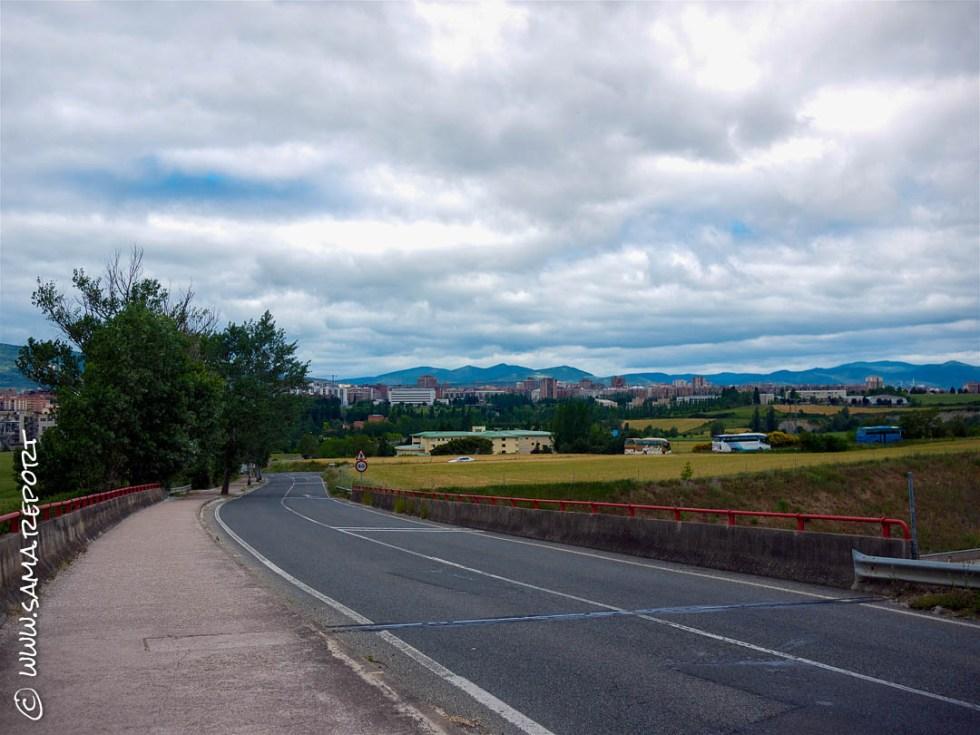 25. Tag: Viscarret Guerendiain - Puenta-La-Reina (Spanien)