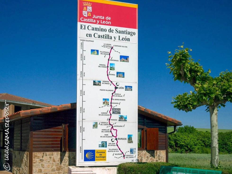 28. Tag: Azofra - Burgos (Spanien)