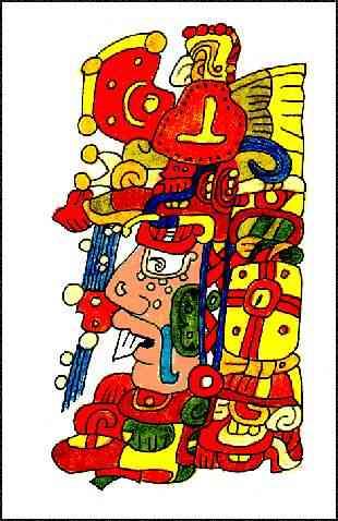 Ah Kin - Dios del Sol Maya