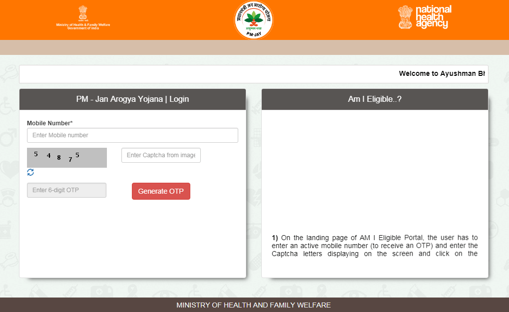 Ayushman Bharat Yojana Registration Online Apply