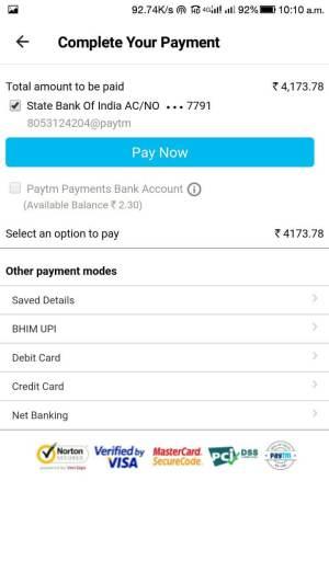 Online Lic Payment Through Paytm 7