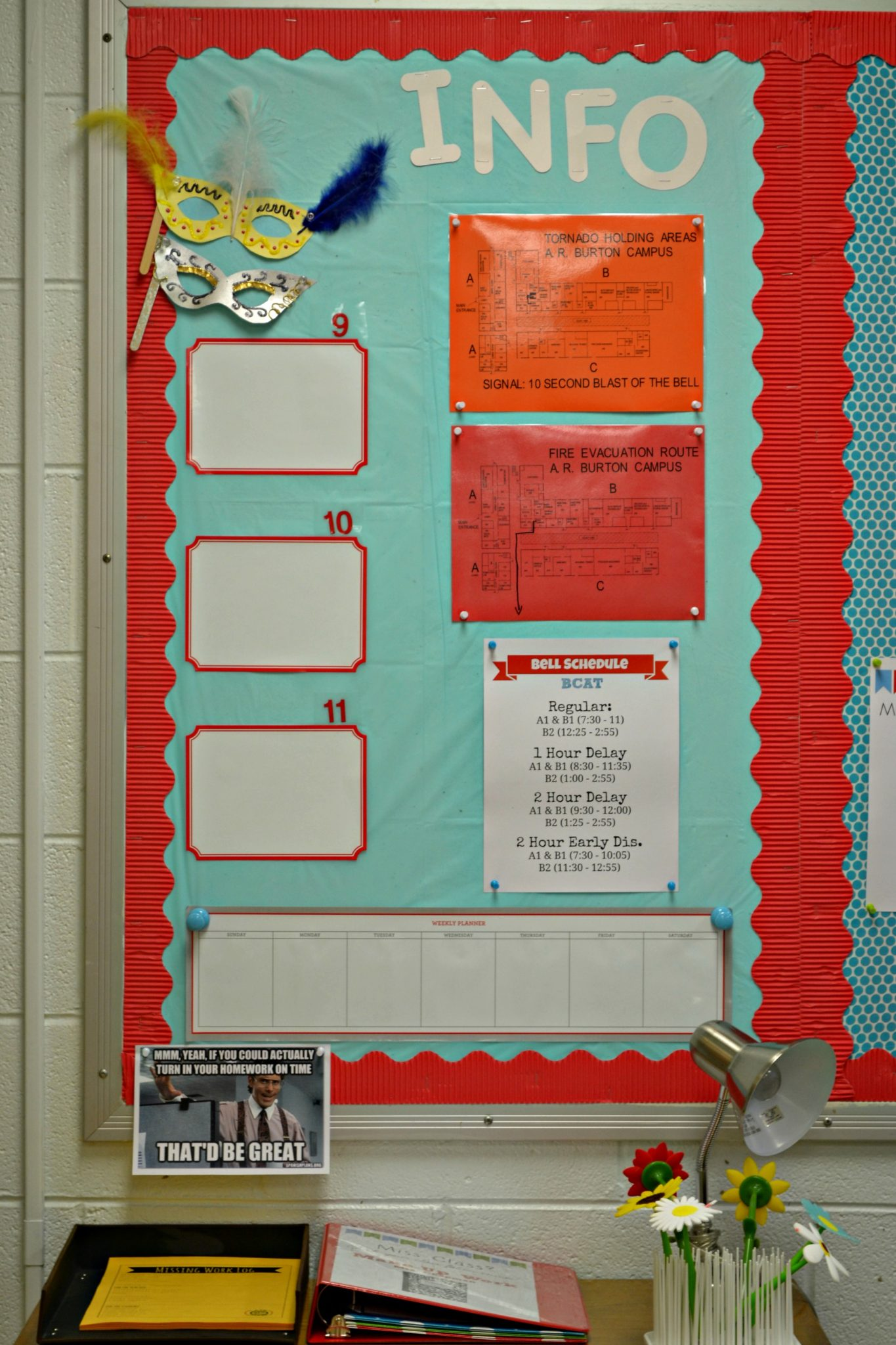 Decoration & Organization for the High School Classroom Teaching