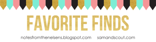 Favorite Finds Banner