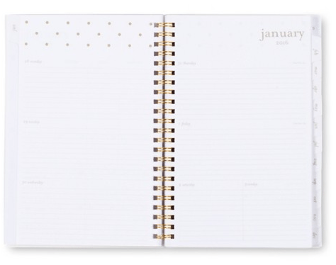 6 Fancy Planners to Consider for 2016: From $60 to $6
