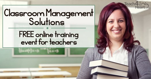Classroom Management Webinar Promo