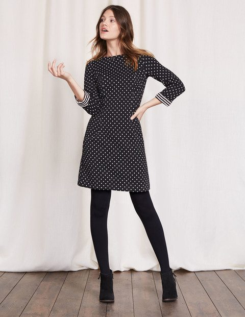 Dotty Shift Dress