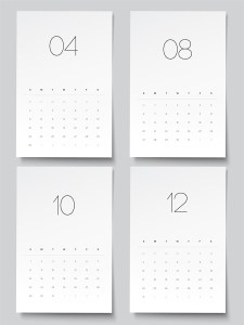 Hartman Design Co Jane.com Printable Calendar