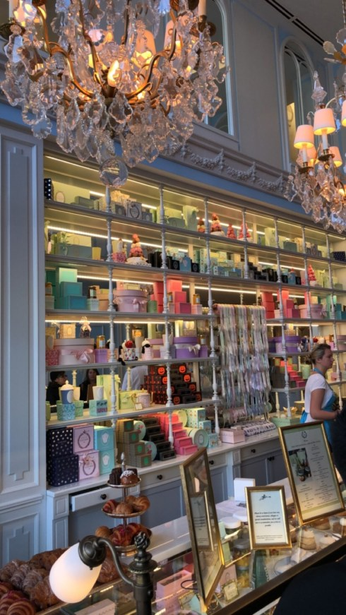 Ladurée shop in Georgetown, DC