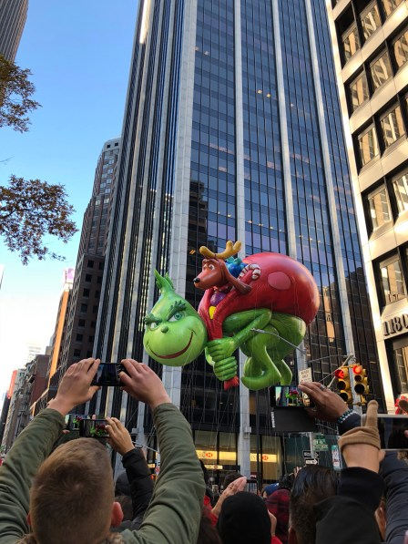 Balloon at Macy's Thanksgiving Day Parade