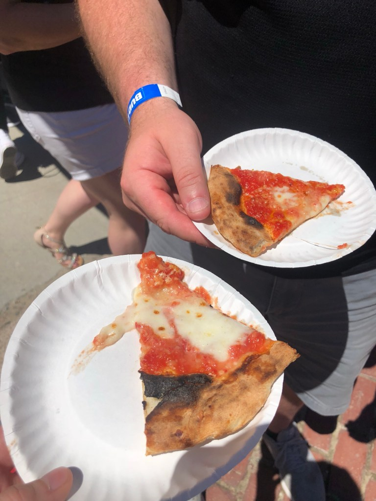 Boston Pizza Festival | Samantha Marie Blog
