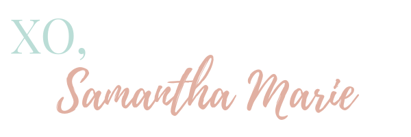 Samantha Marie Blog