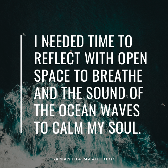 the sound of the ocean waves to calm my soul quote