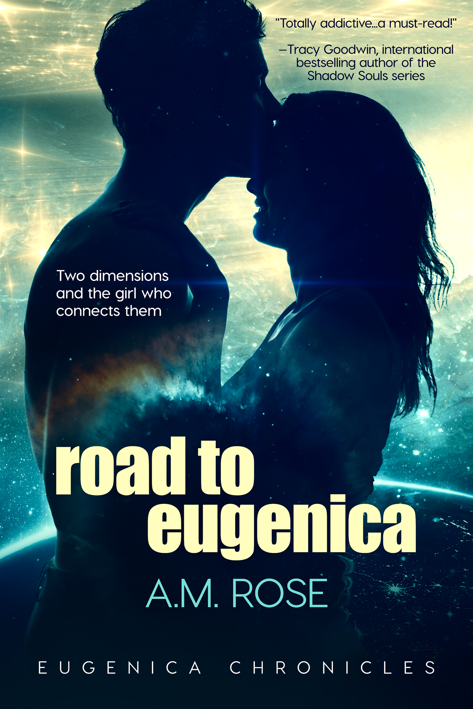 YA novel Road to Eugenica by A. M. Rose