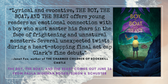 Blurb for THE BOY, THE BOAT, AND THE BEAST by Janet Fox