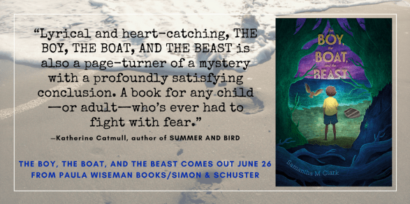 Endorsement for THE BOY, THE BOAT, AND THE BEAST by Katherine Catmull