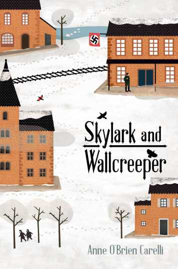 Skylark and Wallcreeper by Anne O'Brien Carelli