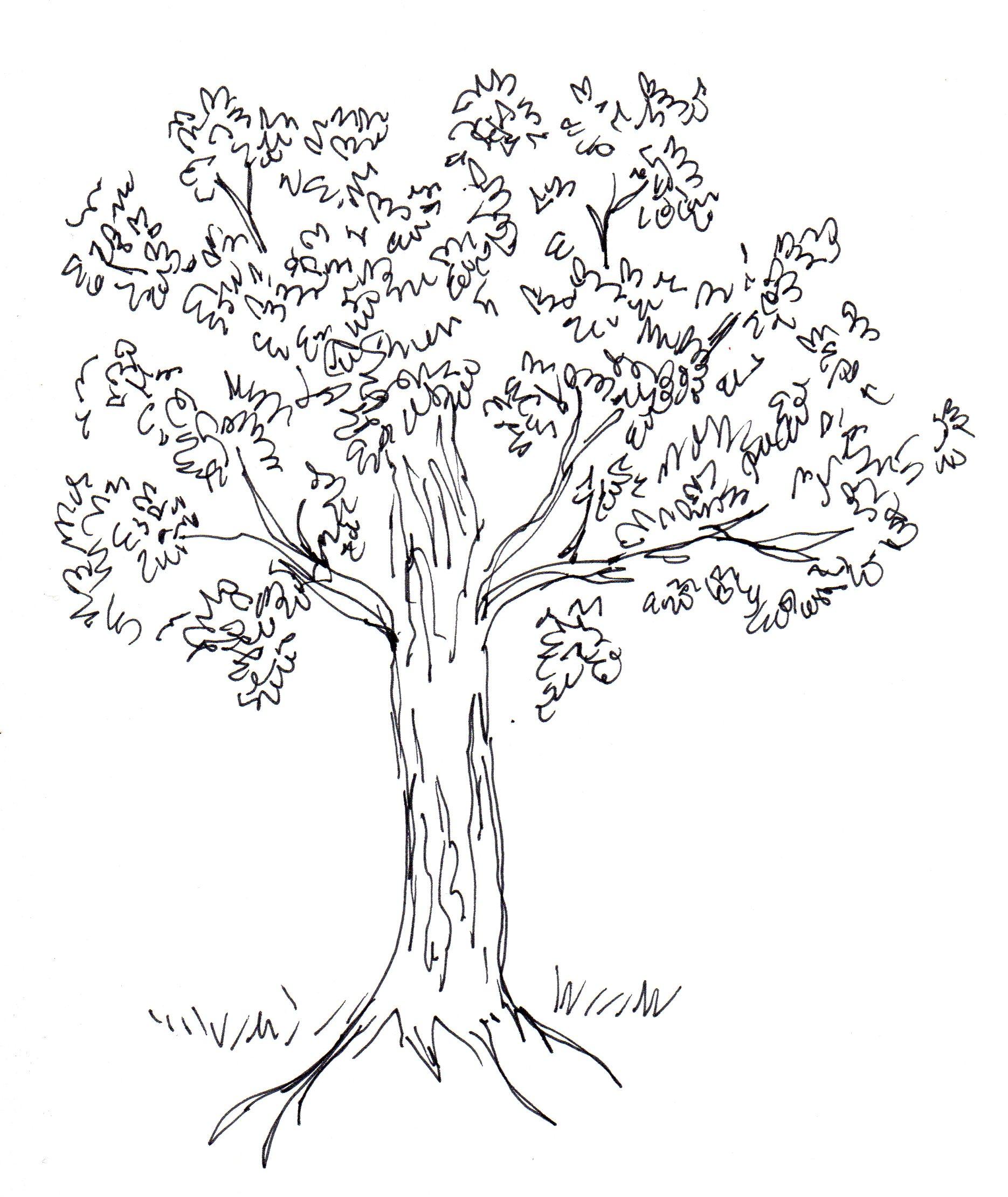 Tree scumbling