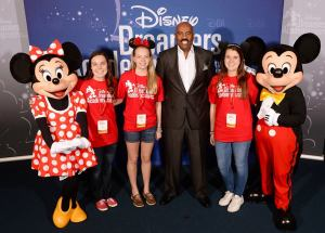 Samantha Solberg at Disney Dreamer Academy with Steve Harvey and Essence Magazine