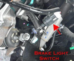 Brake light switch: symptoms, problems, testing, replacement