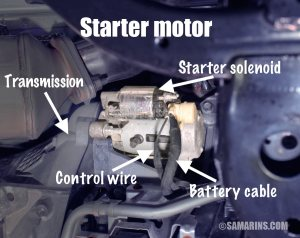 Starter motor, starting system: how it works, problems, testing