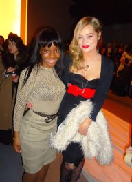Laura Whitmore, London Fashion Week - John Rocha