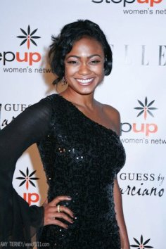 Tatyana Ali at Step Up Women's Network event
